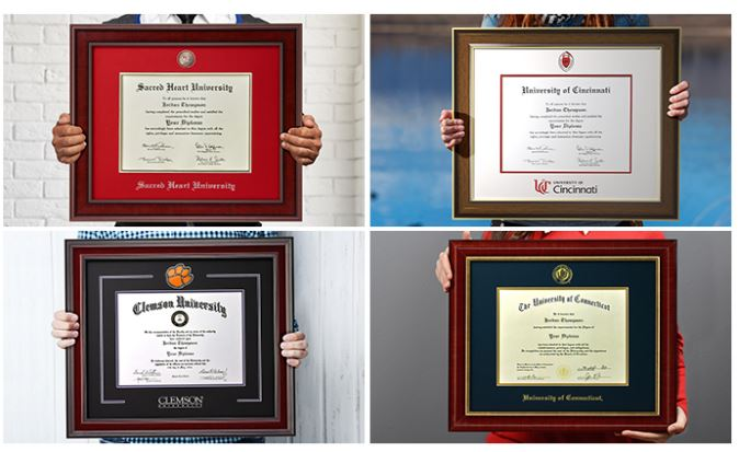 different-diploma-frame-styles