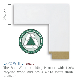 Expo White Moullding
