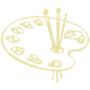 Art Embossed Gold Insignia