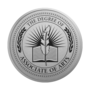 Associate of Arts Engraved Medallion Silver Insignia
