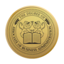 Associate of Business Administration Engraved Medallion Gold Insignia