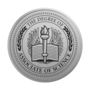Associate of Science Engraved Medallion Silver Insignia