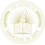 Associate of Arts Embossed Gold Insignia