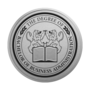 Bachelor of Business Administration Engraved Medallion Silver Insignia