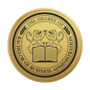 Bachelor of Business Administration Engraved Medallion Gold Insignia