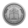 Bachelor of Education Engraved Medallion Silver Insignia