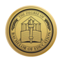 Bachelor of Education Engraved Medallion Gold Insignia