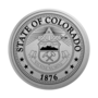 Colorado Engraved Medallion Silver Insignia