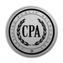 CPA Silver Engraved Medallion Insignia