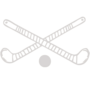 Field Hockey Embossed Silver Insignia