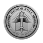 Honor Roll Engraved Medallion Silver Insignia
