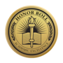 Honor Roll Engraved Medallion Gold Insignia