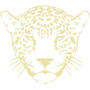 Leopard Embossed Gold Insignia