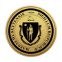 Massachusetts Engraved Medallion Gold Insignia