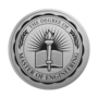 Master of Engineering Engraved Medallion Silver Insignia