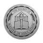 Master of Education Engraved Medallion Silver Insignia