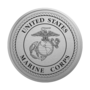 Marine Corps Medallion Silver Insignia