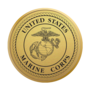 Marine Corps Medallion Gold Insignia
