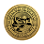 Nevada Medallion Gold Insignia