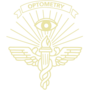 Optometry Gold Embossed Seal Insignia