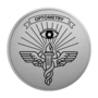 Optometry Silver Engraved Medallion Insignia