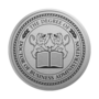 PhD of Business Administration Engraved Medallion Silver Insignia