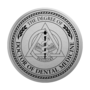 PhD of Dentistry Silver Engraved Medallion Insignia