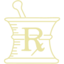 Pharmacy Gold Embossed Seal Insignia