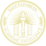 Salutatorian Embossed Gold Insignia