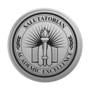 Salutatorian Engraved Medallion Silver Insignia