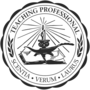 Teaching Professional Black Embossed Seal Insignia