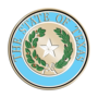 Texas Brass Masterpiece Medallion Insignia