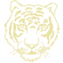 Tiger Embossed Gold Insignia
