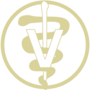 Veterinary Gold Embossed Seal Insignia