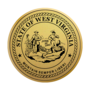 West Virginia Engraved Medallion Gold Insignia