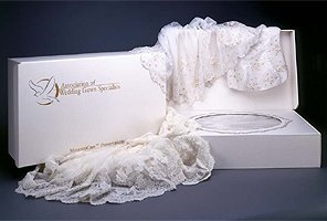 wedding gown box