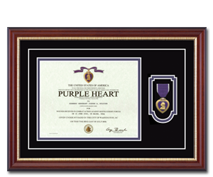 Military Picture Frames And Certificate Frames Church