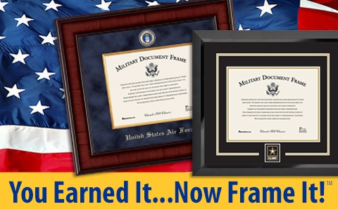 United States Military Frames Amp Display Cases Honorable