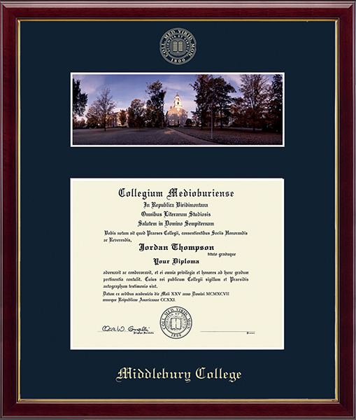 Campus Scene Edition Diploma Frame in Galleria