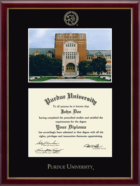 Campus Scene Diploma Frame - Memorial Union in Galleria