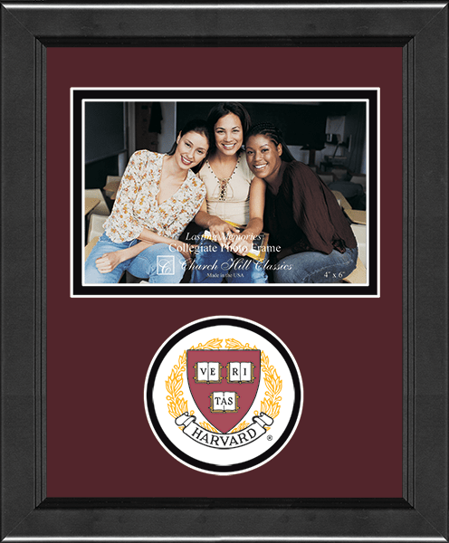 Lasting Memories Circle Logo Photo Frame
