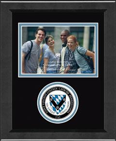 Lasting Memories Circle Seal Frame in Arena