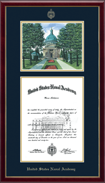 Litho Edition Diploma Frame in Galleria
