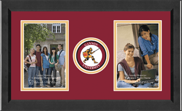 Lasting Memories Double Circle Photo Frame in Arena