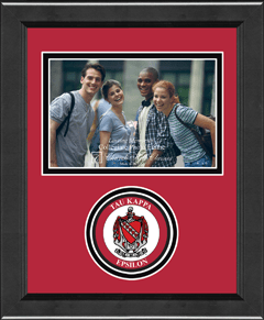 "4"" x 6"" - Lasting Memories Circle Logo Photo Frame in Arena"