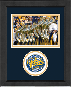 Lasting Memories Circle Logo Photo Frame - Horizontal in Arena