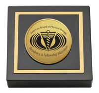 Gold Engraved Paperweight