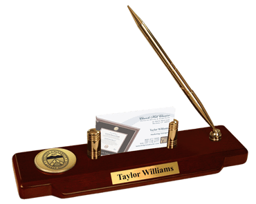 Gold Engraved Desk Pen Set