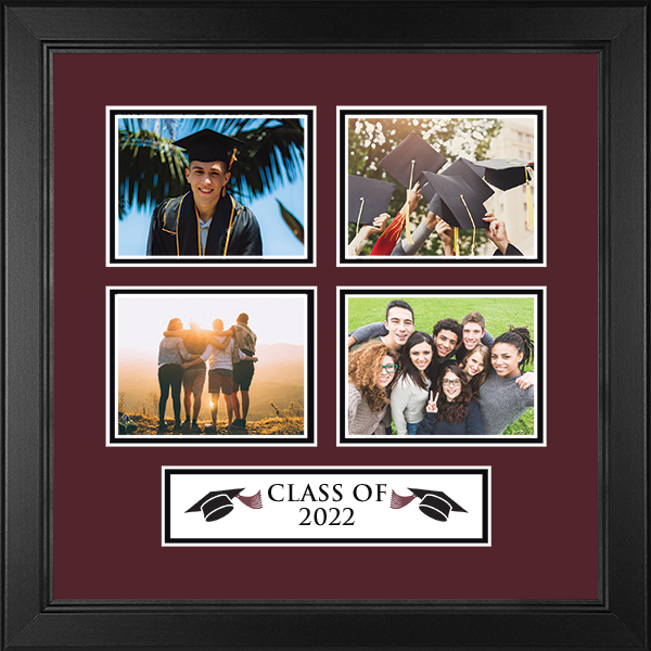 'Class of' Quad Collage Photo Frame in Arena
