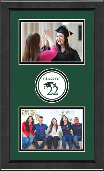 'Class of' Double Circle Logo Photo Frame in Arena